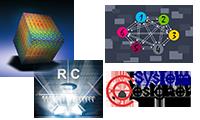 Collage der Logos der vier Arbeitsgruppe des Lehrstuhls (200px breit)