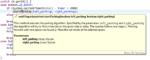 Bildschirmfoto eines JavaDoc-Kommentares, der die Funktion Einparkassistent.startParking dokumentiert
