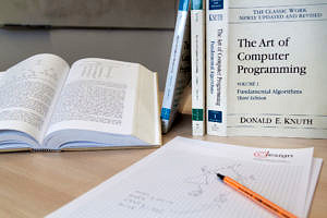 "Some volumes of ""The Art of Computer Programming"""